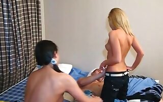 Young Sex Parties - Lukava - Athletic man fucks two young pussies
