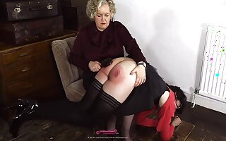 Well Punished French Teacher