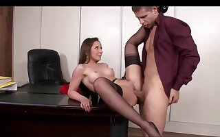 Ass Fucking Sexual relations In The Office With A Gorgeous Secretary