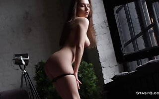 Simply Perfect Bodied Russian Dancer Strips & Teases