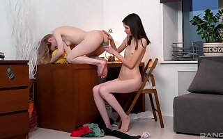 Massive oral pleasures be fitting of both lesbians