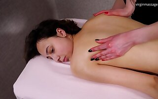 Guzy Cabrera Back Oil Massaged By A Babe