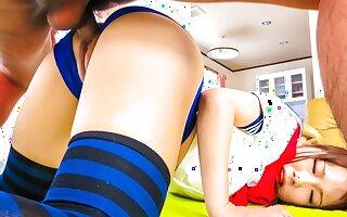 Incredible Japanese girl Ai Mizushima in Exotic JAV uncensored Hardcore movie