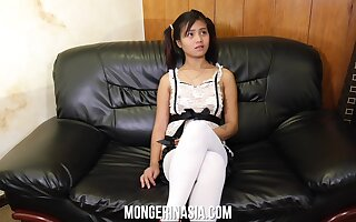 Baby faced Filipino teen maid will do anything for money