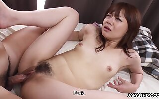 Asuka Kyono is filled with spunk after sex