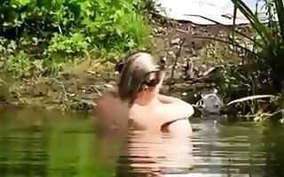 Voyeur at the natatorium